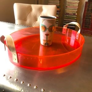 Neon Pink Tray